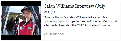 Calan Williams Interview